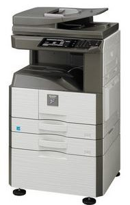 MX-M266N Fekete/fehér Multifunkciós Fénymásoló Gépasztallal