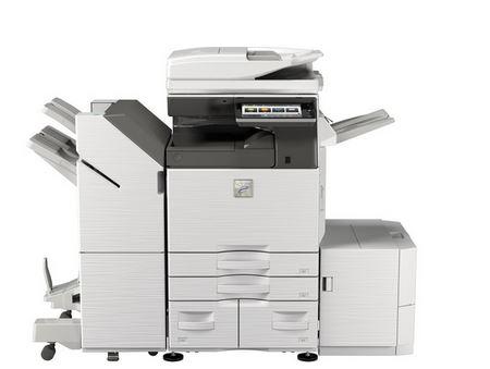 MX-M5070 Fekete/fehér Multifunkciós Fénymásoló