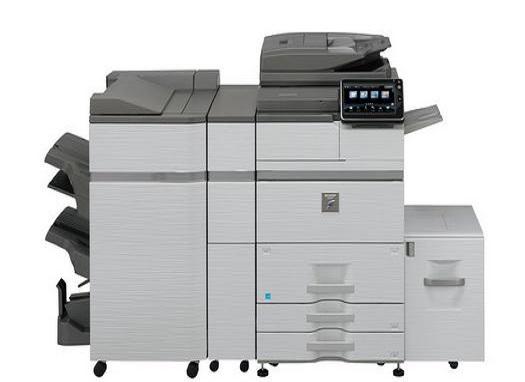 MX-M754N Fekete/fehér Multifunkciós Fénymásoló