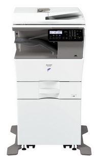 MX-B450W Fekete/fehér Multifunkciós Fénymásoló
